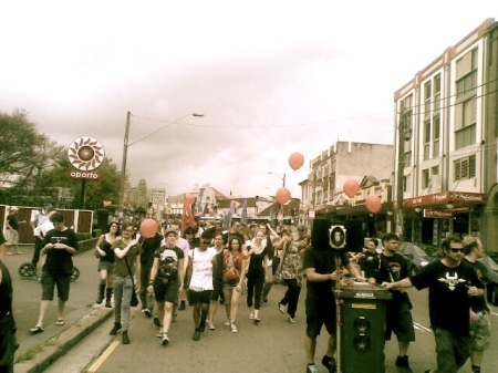 Reclaim the lanes Enmore Rd